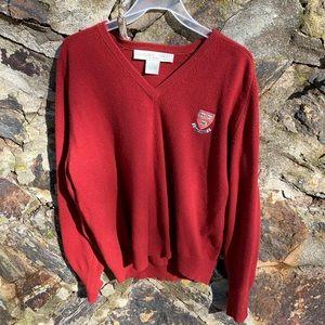 Sweaters - Harvard 100% Cashmere V Neck Sweater